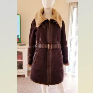 Hawke & Co. Dark Brown Women Coat M PERFECTION!!